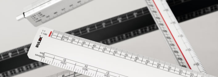 scale rulers group image